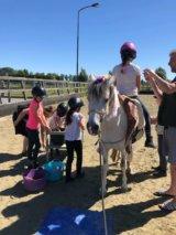 kinderfeestje van stal